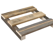 Wooden Pallets - Small Skids