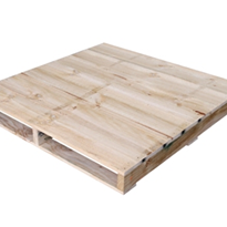 Wooden Pallets - Closed Deck