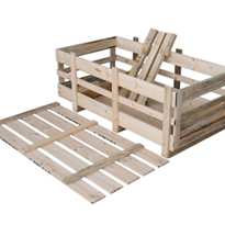 Wooden Boxes - Machinery Crate