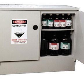 Safety Cabinets | Corrosive Storage Cabinet