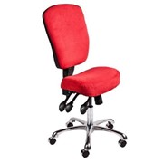 Ergonomic Chair | High Back with Chrome | SitBones