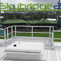 Modular Walkway System with Handrails | Skybridge2