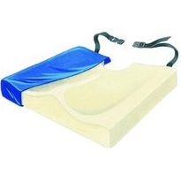 Visco Conform Foam Cushion with Coccyx Cutout