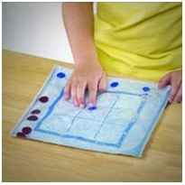 Tic-Tac-Toe (0s and Xs) Gel Pad