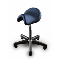 Ergonomic Bambach Saddle Chair for Medical Professionals