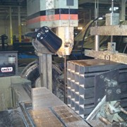 Cutting packs of steel tube