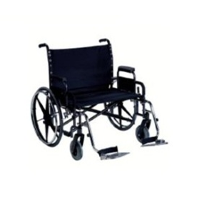 Breezy Heavy Duty Extra Wide Wheelchair | BA1001