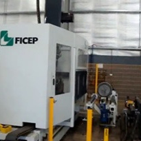 Ficep Beam line runs on Coolube 2210EP