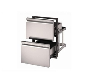 Basic Double Drawer | Ronda RP.QM21.SS