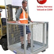 Forklift Safety Cage with Free Harness