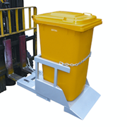 Forklift Attachments / Wheelie Bin Tipper