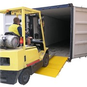 Forklift Attachments / CRN65 Container Access Ramp