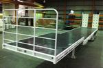Extendable Trailer | Drop Deck with Bi-fold Ramps