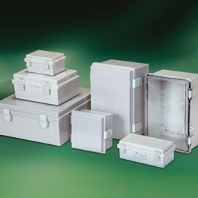 Electrical Enclosure | Plastic Hinged Lid
