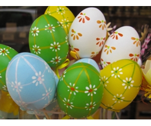 Easter is the most significant holiday for the chocolate industry, with spending during the Easter week about 50 per cent higher than a typical week.