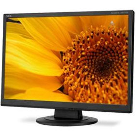 "Widescreen Black LCD Monitor | NEC 19"" AS191WM-BK"