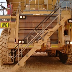 Complete Stair System | Haul Truck