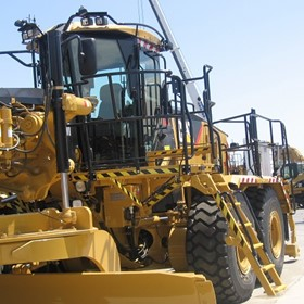 Vehicle Access System | Complete | Motor Grader