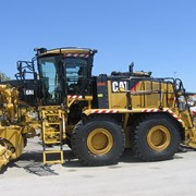 Vehicle Access System | Motor Grader | Rear Tandem Protection