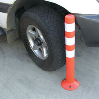 Flexible Plastic Flex Bollards