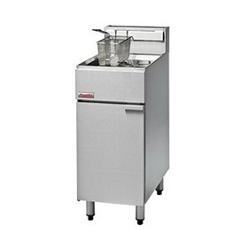 400mm Single Pan Gas Deep Fryer | FF18
