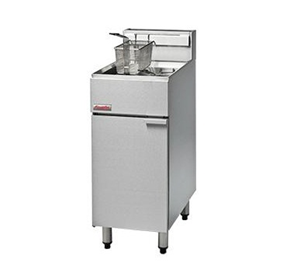 400mm Single Pan Gas Deep Fryer | FastFri FF18