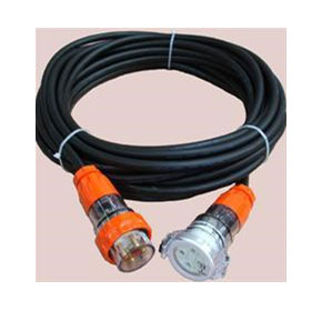 3 Phase 4 Pin Standard Duty  Extension Leads (3C+E)