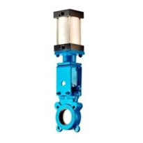 Ductile Iron Double Acting Knife Gate Valve | Process Systems