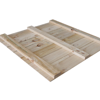 Wooden Pallets - Bale Boards