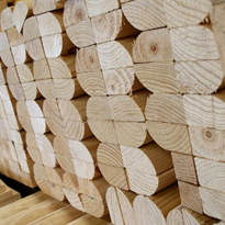 Wholesale Timber - Rounded Timber
