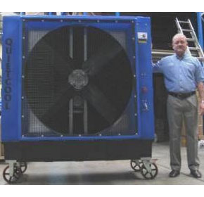 Portable coolers for factories