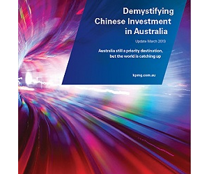 The report found Australia is facing increasing competition from other countries for Chinese investment dollars.