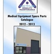 AMM Spare Parts Catalogue for Medical Equipment