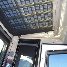Industrial Vehicle Sun Blinds