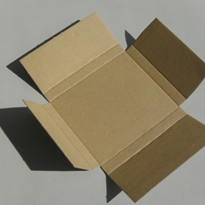 Cardboard Boxes - One Piece Open Folder