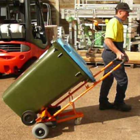 Industrial Battery Electric Bin Mover | Bin-Safe