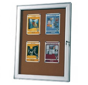 Outdoor Lockable Notice Board | MD2