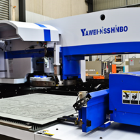 Yawei Nisshinbo HPE Series Servo Driven CNC Turret Punch Presses