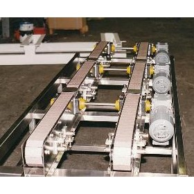Adept Interconnecting Strip Chain Conveyors