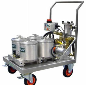 Large Mobile Oil Filtration Unit | 4S1200E