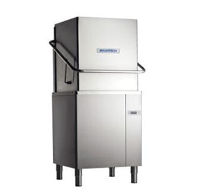 Professional Passthrough Dishwasher with 500mm Rack | Washtech M2