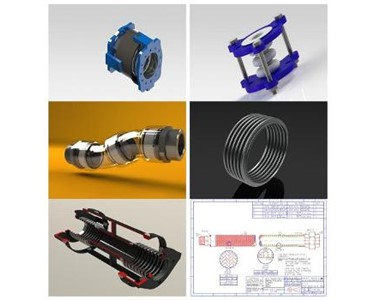 2D/3D Cad Drawings | Pacific Hoseflex