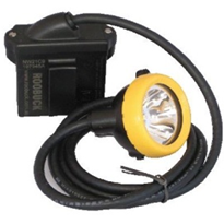 MSHA Certified Miner's Caplamp with Single Charger | KL5M