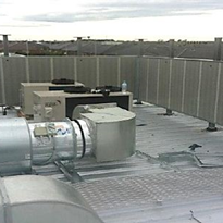 HVAC and roof equipment noise control | Flexshield