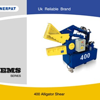 Metal Alligator Shear - EMS-400