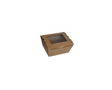 Small Take Away Salad Box with PLA Window
