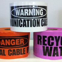 Underground Non-Detectable Service Warning Tape
