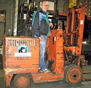Is this the world's oldest operational forklift?
