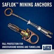 Saflok Fall Protection Mining Anchors