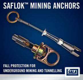 Saflok™ Fall Protection Mining Anchors